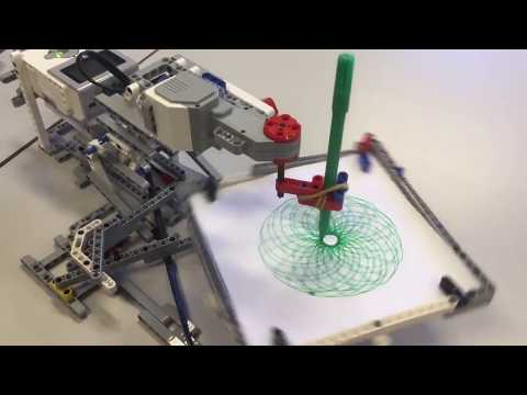 Lego Ev3 drawing robot 4