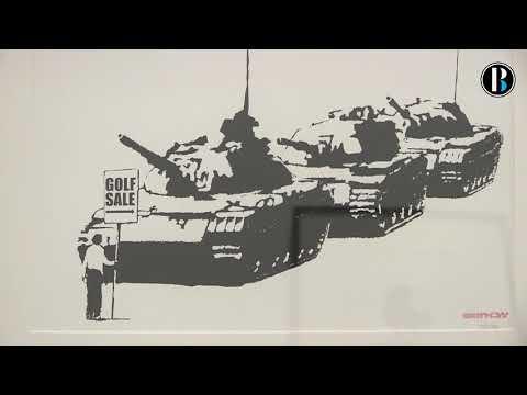 Exposición no autorizada recorre a través de 80 piezas el arte de Banksy