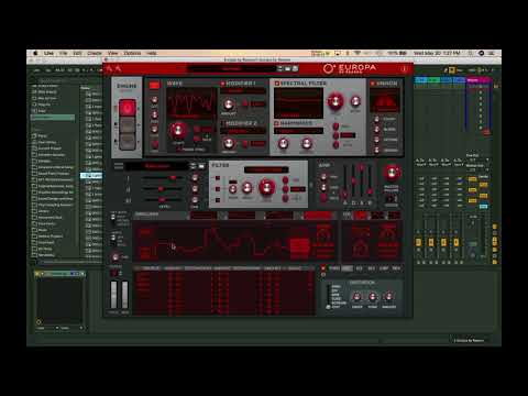 Europa by Reason VST/AU Synth First Look