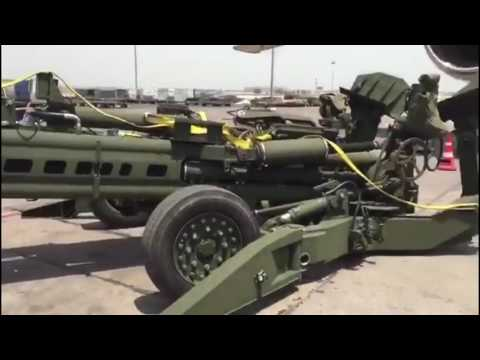 M777  Howitzer in India ( Video Credit Vishnu Som / NDTV)