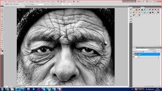 Урок Photoshop. 752 канал (Урок #22 Как при помощи фотошопа сделать себя моложе?) (#ЕвгенийКулик)