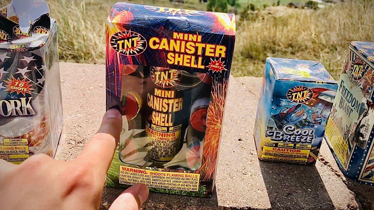 Lighting $130 Worth of TNT Fireworks!
