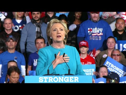 Full Video: LeBron James speaks at Clinton rally in Cleveland