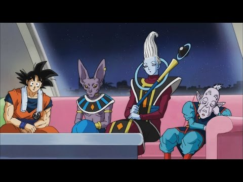 Buu at sleep wont join Universe 7,Beerus still salty over Pudding