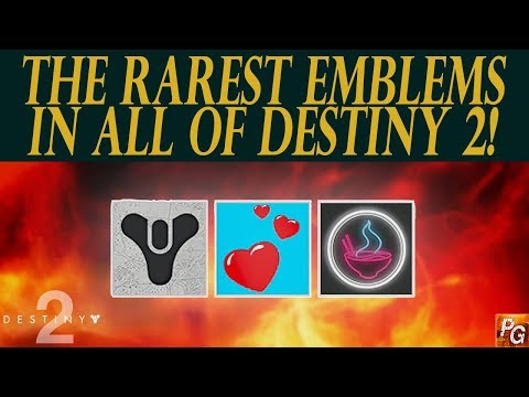 Destiny 2: The Rarest Emblems In The Game And How To Get Them! - YouTube