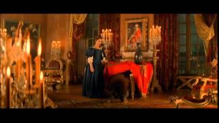 Romain Duris, Fabrice Luchini, Laura Morante - under table scene from film