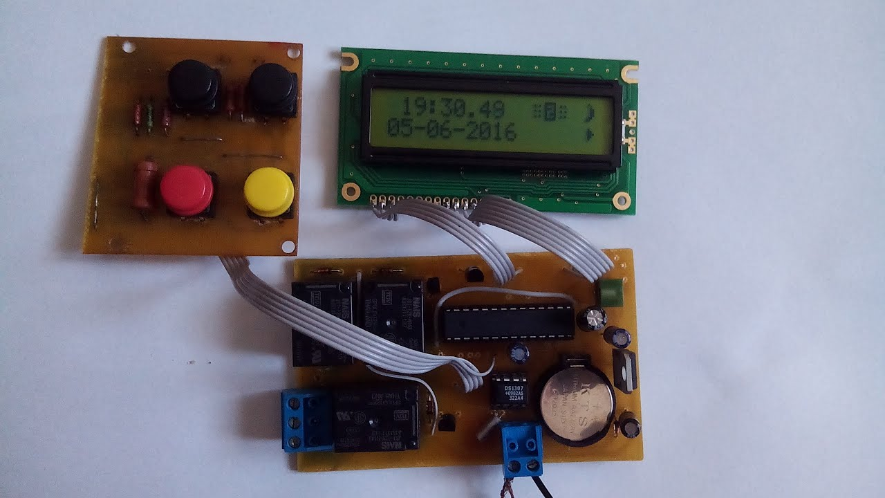 Аквариумный контроллер своими руками