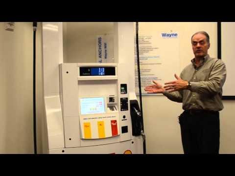 Wayne Ovation Fuel Dispenser Touch Screen Technology - YouTube