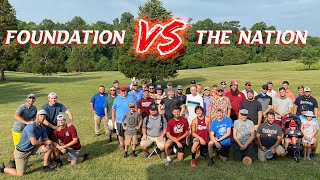 Foundation vs The Nation | Disc Golf | Falling Creek Park