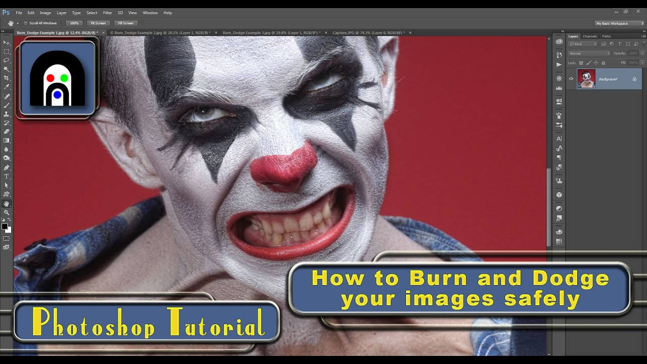 Photoshop Cc 2015 Using The Dodge And Burn Tools Non Destructively