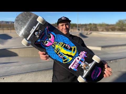 TOM ASTA NIGHT OWL POWERPLY PRODUCT CHALLENGE! | Santa Cruz Skateboards