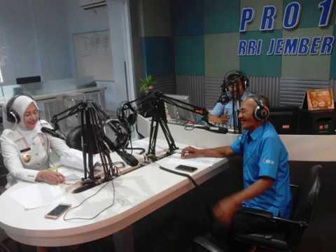 Penjelasan Bupati Jember soal GTT Di Radio Republik Indonesia