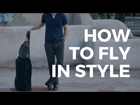 What to Wear to the Airport | 5 Travel Style Tips for Men