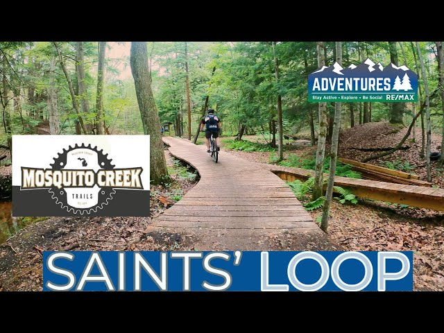 Mosquito Creek Trail   Infinity and Saints' Loop