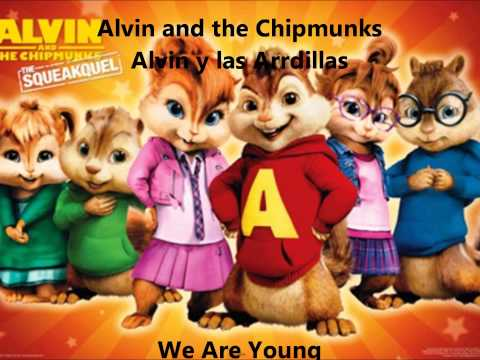 FUN. We are young (Alvin and the Chipmunks)