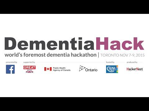 8min Recap - DementiaHack Toronto 2015 Hackathon presented by Facebook