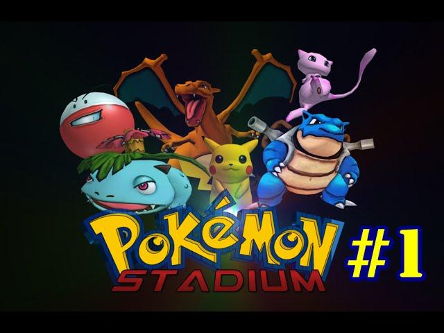 Torneio Pokémon #1 - Pokémon Stadium