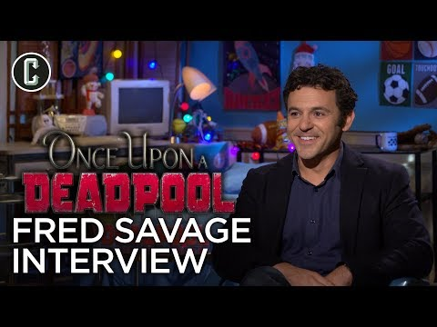 Once Upon A Deadpool Interview: Fred Savage