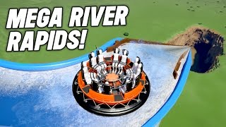 Planet Coaster : WORLDS FASTEST RAPIDS RIDE EVER!