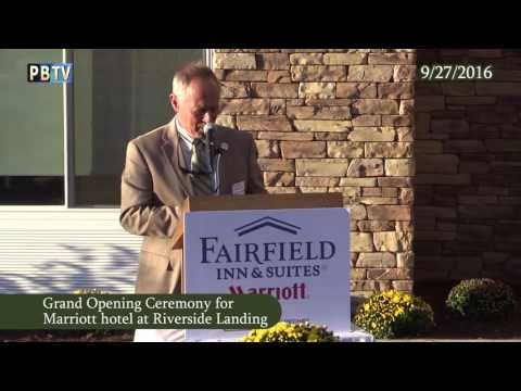 Plymouth Fairfield Inn & Suites Grand Opening 9/27/16