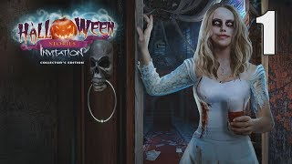 Halloween Stories: Invitation CE [01] Let's Play Walkthrough - START OPENING - Part 1