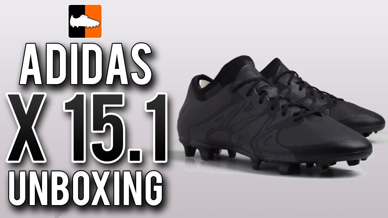 9ff7c2ba4a42e Fluid X 15.1 Unboxing | adidas Black-Out Football Boots - YouTube