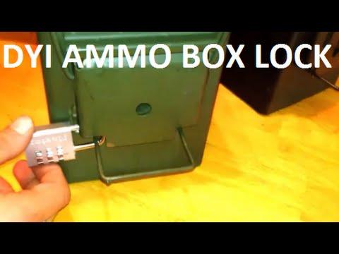 Ammo Box Lock Cheap & Easy!