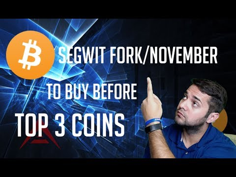 Top 3 Cryptocurrencies To Buy Before Segwit/November