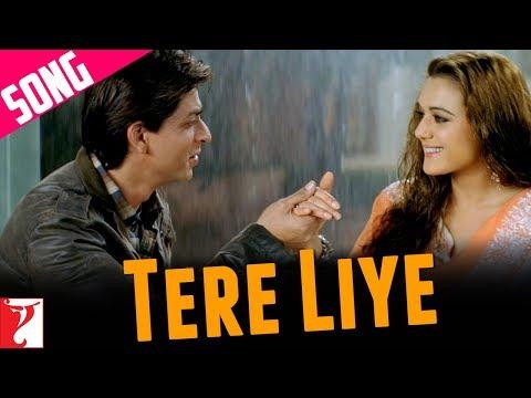 Tere Liye Song | Veer-Zaara | Shah Rukh Khan | Preity | Lata Mangeshkar | Roop Kumar Rathod
