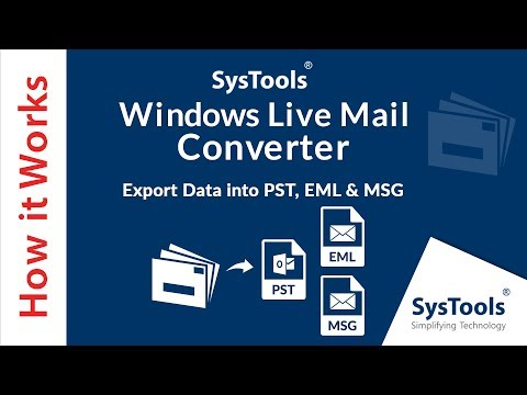Windows Live Mail Converter Tool to Export WLM to Outlook