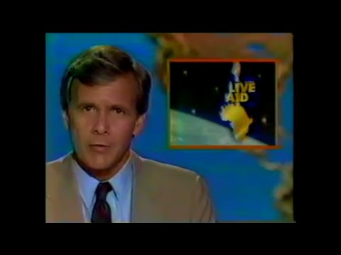 Live Aid News Report (NBC Nightly News - 7/15/1985) - YouTube