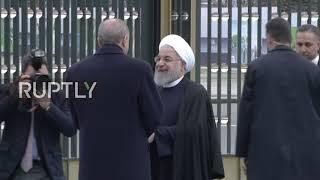 Turkey: Erdogan welcomes Rouhani to Ankara