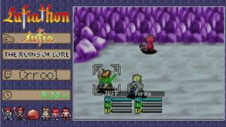 Lufiathon 2016 - Lufia: The Ruins of Lore by Crrool in 8:56:59 [Part 1/2]