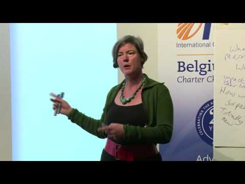 ICF on Tour - Keynote speech Caitlin Walker - Brussels