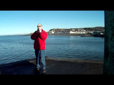 Aberystwyth Harbour Wall - 20th January 2011