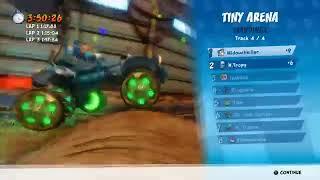Crash Bandicoot Nitro fueled