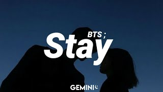 BTS - Stay (Tradução/ legendado)