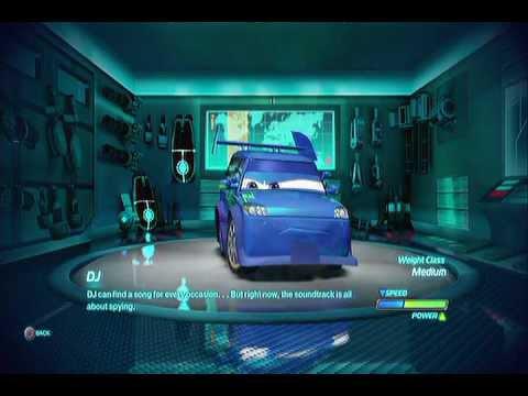Baby learning colors disney pixar cars 3 eggman mack cat for Sarge automobiles garage serus