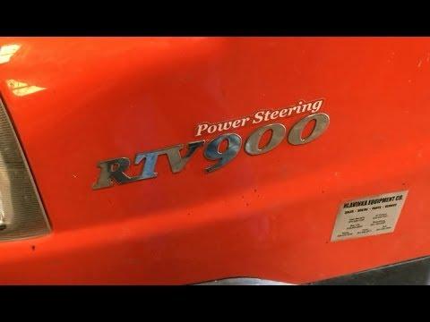 Repeat Kubota RTV X900 X1100C X1120D Oil Change By