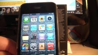 Обзор iphone 3gs
