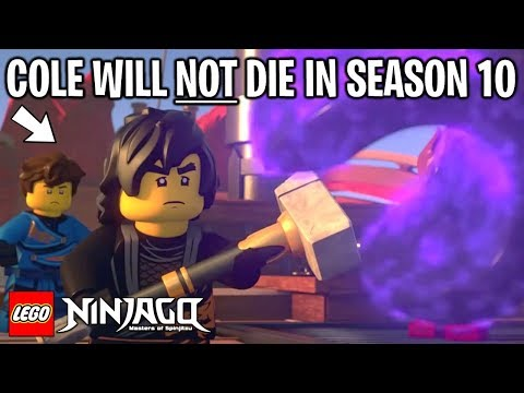 LEGO Ninjago COLE WILL NOT DIE IN SEASON 10 - Proof! (March of the