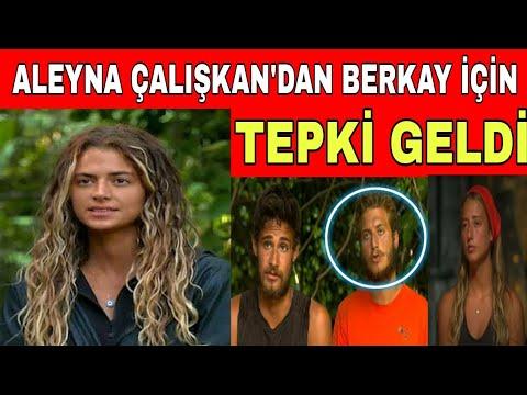 Survivor Elenen Aleyna Çalışkan'dan Berkay İçin Tepki Geldi!
