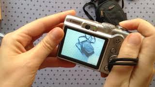 розпакування Б/У Canon Power Shot A 1100 IS