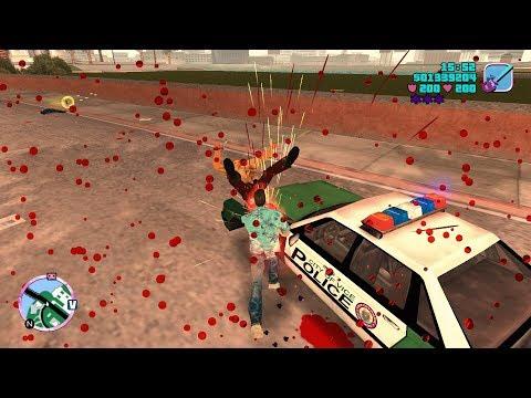 GTA Vice City (PC) | Starfish Island Shootout | Six Star Escape | 1080p