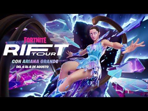 Tráiler de avance del Rift Tour de Ariana Grande