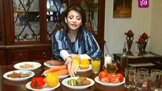ربى مشربش تتحدث عن علاقة البشرة بالتغذية – رؤيا Roya l