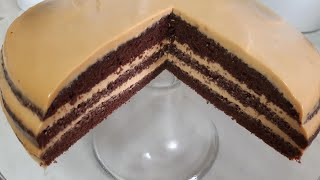 ЧЁРНЫЙ ПРИНЦ Торт СОЧНЫЙ и НЕЖНЫЙ БЕЗ ПРОПИТКИ ВКУСНЫЙ ШОКОЛАДНЫЙ Торт НА СКОРУЮ РУКУ