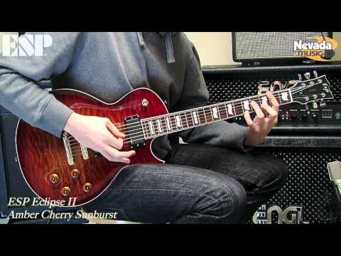 ESP Eclipse Guitar with EMG'S - Sam Bell Demo @ PMT