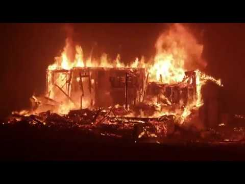 californian wildfires 2018 update camp fire rages through