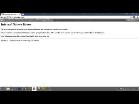 codeigniter problem : 500 Internal server error